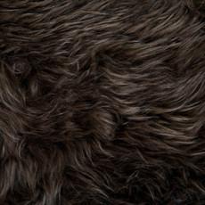 Chocolate Brown Single Sheepskin Rug