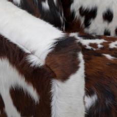 Tricolour cowhide