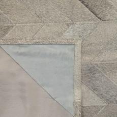 Grey Patchwork Cowhide Rug