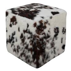 Tri-colour Cowhide Cube