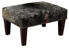2ft x 1.5ft Cowhide Footstool / Ottoman FST619