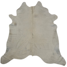 White And Grey Cowhide Rug
