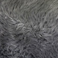 Silver Grey Octo Sheepskin Rug