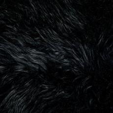 Black Octo Sheepskin Rug