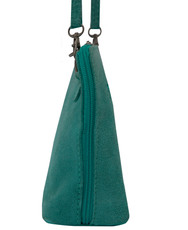 Suede Sholder Bag in Aqua PB002