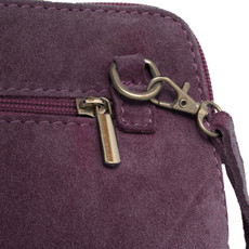 Suede Sholder Bag in Lilac PB005