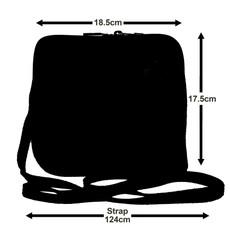Suede Sholder Bag in Pink PB009