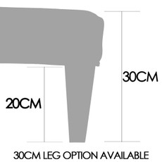 Footstool Size diagram