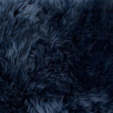 Royal Blue Single Sheepskin Rug