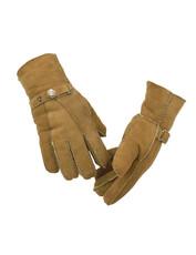 Men's Sheepskin Gloves in Tan
