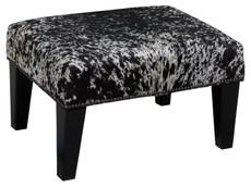 2ft x 1.5ft Cowhide Footstool / Ottoman FST771