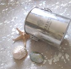 Silver Metallic Cowhide Rug SMET025-21 (240cm x 190cm)