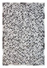 Patchwork Cowhide Rug PWL(BLK)001 (300cm x 200cm)