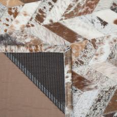Patchwork Cowhide Rug PWM(BRN)001 (240cm x 160cm)