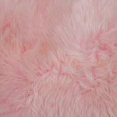 Baby Pink Single Sheepskin Rug