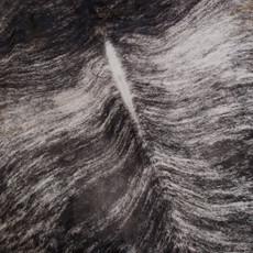 Tan and Dark Brown Brindle Cowhide rug