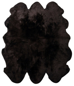 Chocolate Sexto Sheepskin Rug (200x150cm)