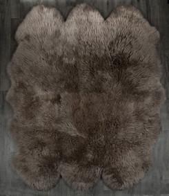 Taupe Sexto Sheepskin Rug