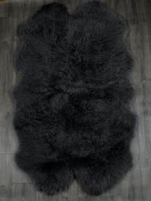 Black Quad Sheepskin Rug