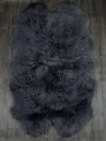 Slate Quad Sheepskin Rug