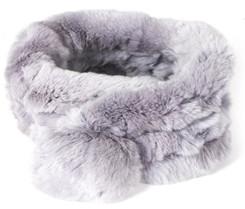 Silver Grey Bellringer Fur Scarf RFS12A-D03