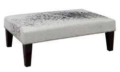 3ft x 2ft Cowhide Footstool / Ottoman FST870