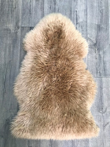 Caramel Single Sheepskin Rug