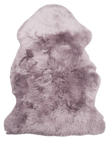 Lilac Single Sheepskin Rug