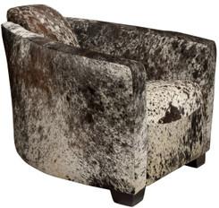 Cowhide Hurlingham Club Chair