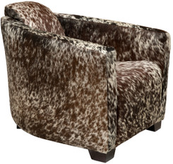 Cowhide Hurlingham Club Chair