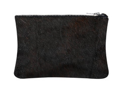 Black Cowhide purse