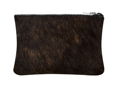 Reddish Brown Cowhide purse