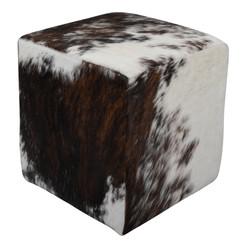 Tricolour Cowhide Cube