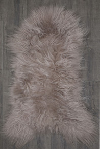 Icelandic Light Taupe Single Sheepskin Rug