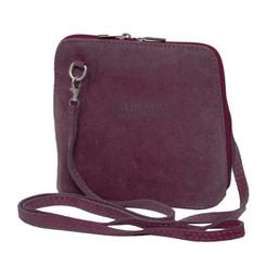Suede Sholder Bag in Lilac