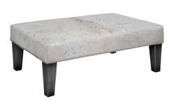 3ft x 2ft Cowhide Footstool / Ottoman FST920