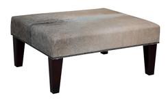 3ft x 2ft Cowhide Footstool / Ottoman FST970