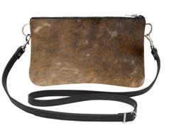 Cowhide Shoulder Bag DRB213 (15cm x 23cm)