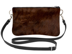 Cowhide Shoulder Bag DRB235 (15cm x 23cm)