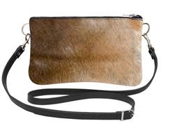 Cowhide Shoulder Bag DRB249 (15cm x 23cm)