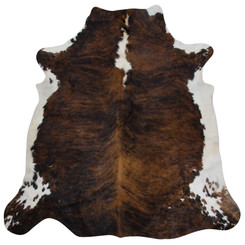 dark brindle cowhide