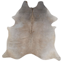 pale cowhide rug