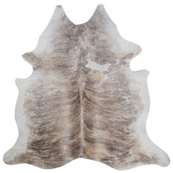 PALE BRINDLE COWHIDE RUG