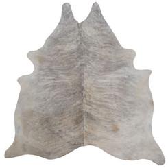 pale brindle cowhide rug