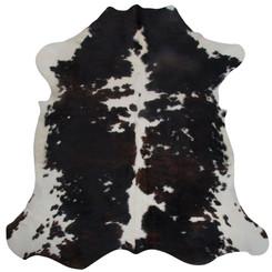 tricolour cowhide rug