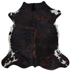 brindle cowhide rug