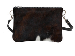 Large Cowhide Shoulder Bag LDRB101-21 (18cm x 23cm)