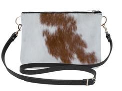 Large Cowhide Shoulder Bag LDRB164-21 (18cm x 23cm)