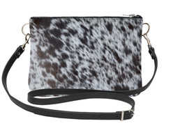 Large Cowhide Shoulder Bag LDRB172-21 (18cm x 23cm)