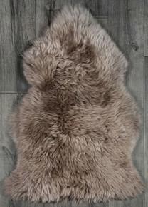 Taupe Single Sheepskin Rug